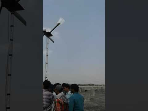 Renewable energy project testing in Amir uet