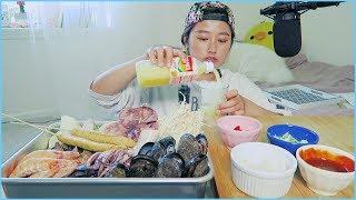Seafood #1 - SOUP!! Mukbang