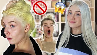 I bleached my hair | WATCH THIS BEFORE YOU BLEACH YOUR HAIR