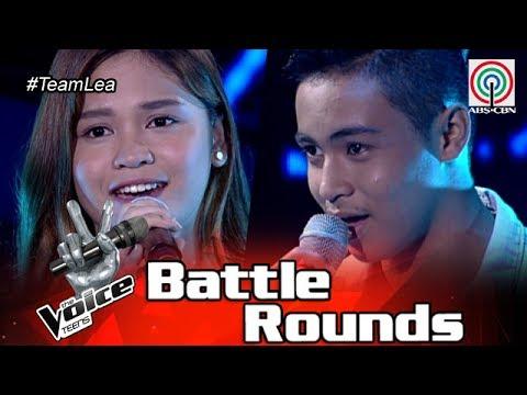 The Voice Teens Philippines Battle Round: Erica vs Jomar - Makita Kang Muli