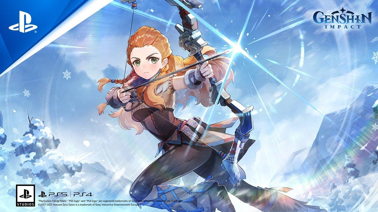 Genshin Impact - Aloy Teaser | PS5 | PS4