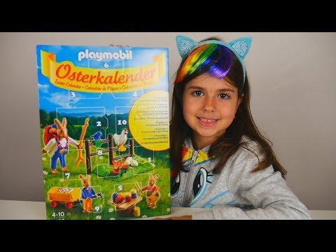Playmobil Easter Calendar 🐇🐰 παιχνίδια για παιδιά  / Artemi Star / greek ελληνικά