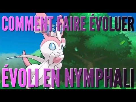 Comment faire évoluer évoli en nymphali