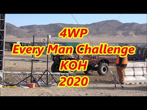 4WP Every Man Challenge KOH 2020 Qualifying (Parte 1/9)