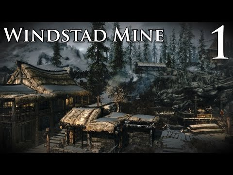 Skyrim Mods: Windstad Mine - Part 1