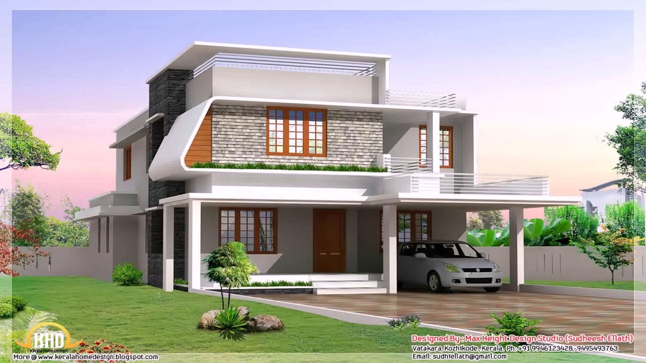 1200 Sq Ft House Plans Kerala Model Youtube