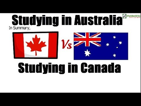 Studying in Canada vs Australia; Which is better? Study Abroad Comparison