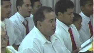 ccjs combined choir ua taunuu le valoaga