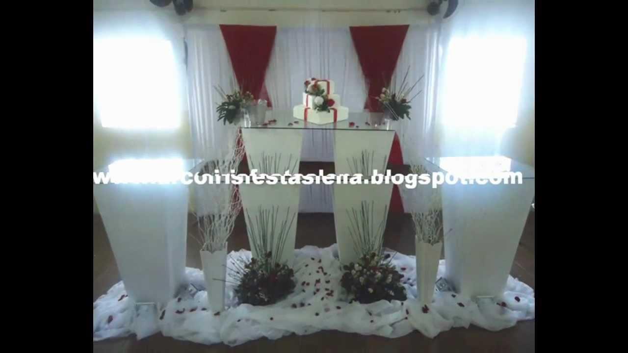 Decoração Youtube ~ Decoraç u00e3o de Casamento III YouTube