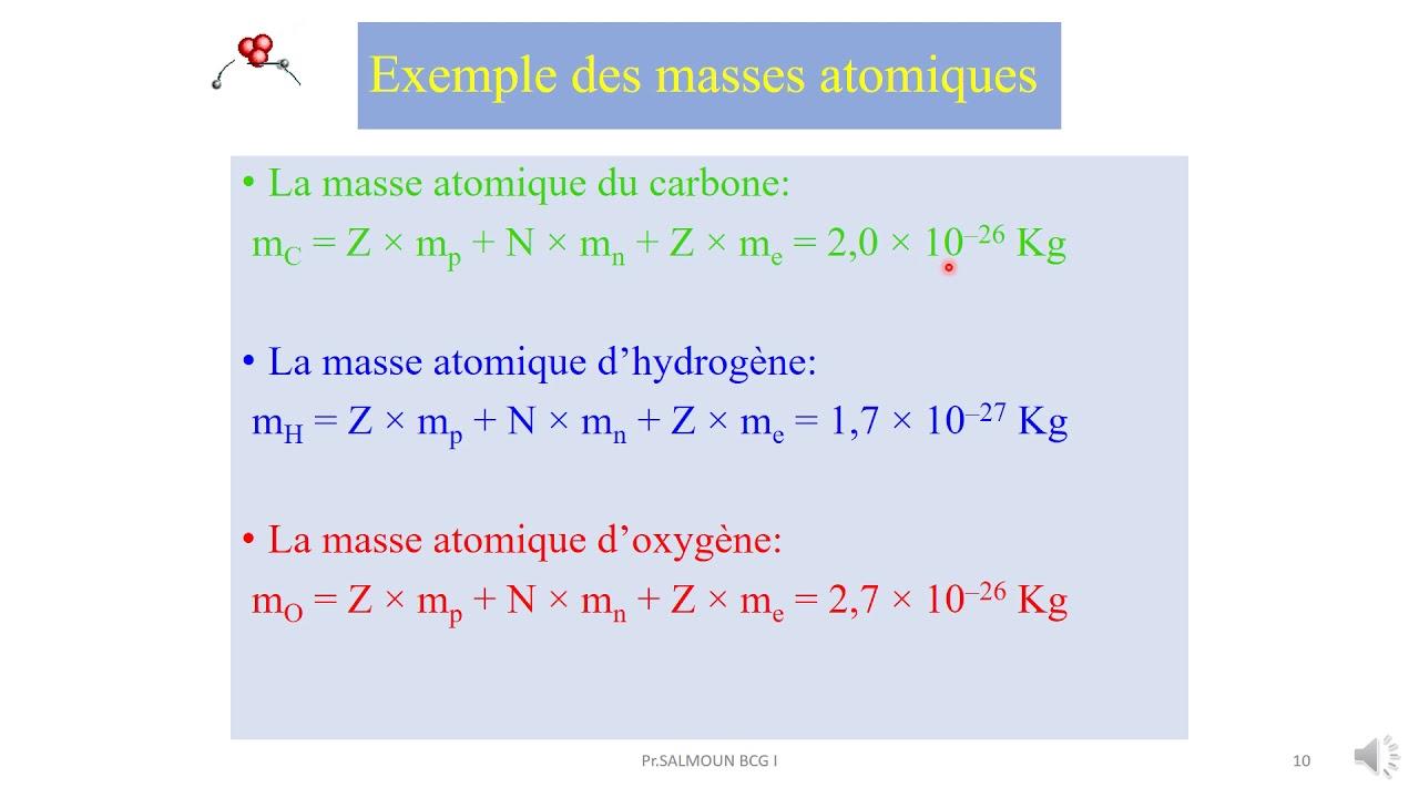 Chapitre I Partie 3 Isotopes Et Abondance Youtube