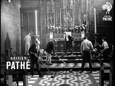 Teddy Boys Help Church (1959)