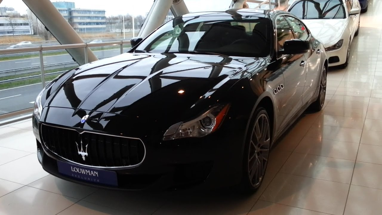 Maserati quattroporte gts 2015 in depth review interior for Maserati granturismo s interieur