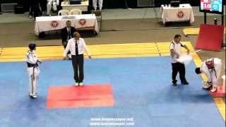 58kg Sadullah Taytemur - Emre Yurtseven (2012 Turkish Taekwondo Championships Under -21)