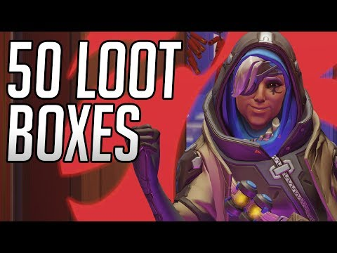 Unboxing 50 Year Of The Pig Overwatch Lootboxes! [2019]