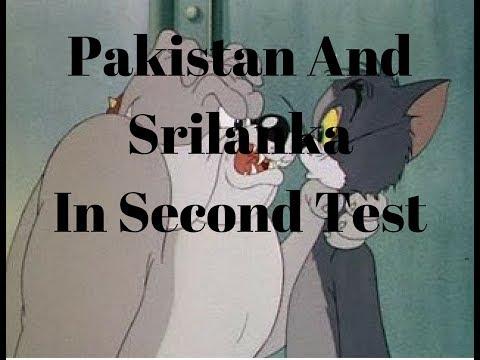 Pakistan Vs SriLanka In 2nd test - Comics By Saif