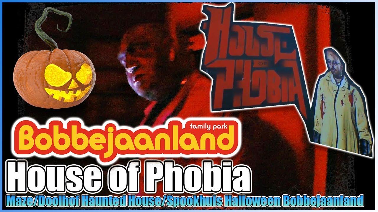 house of phobia mazehalloween doolhof spookhuis haunted house at bobbejaanland theme park belgium - Phobia Halloween