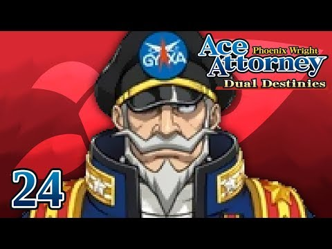 A GREAT MAN - Let's Play - Phoenix Wright: Ace Attorney: Dual Destinies - 24 - Playthrough