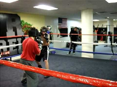 Sparring: Mike Donahue, Everyday Billy J, Aaron Kearney
