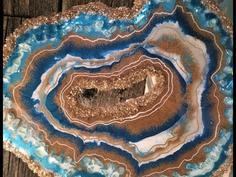 #26- Making A Freeform Resin Geode, A Quick Look