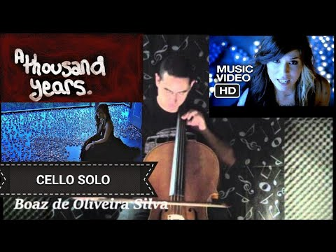 Christina Perri - A Thousand Years (Cello Cover) HD VIDEO