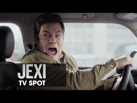 "Jexi 2019 Movie  TV Spot ""HERE TO HELP TRAFFIC"" — Adam Devine Rose Byrne"
