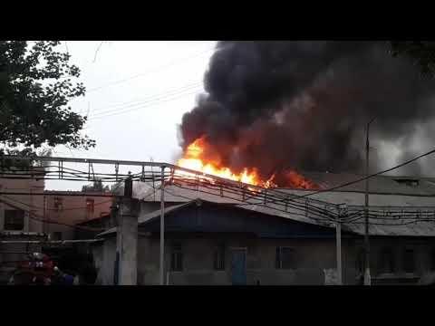 Пожар на шахте Северная