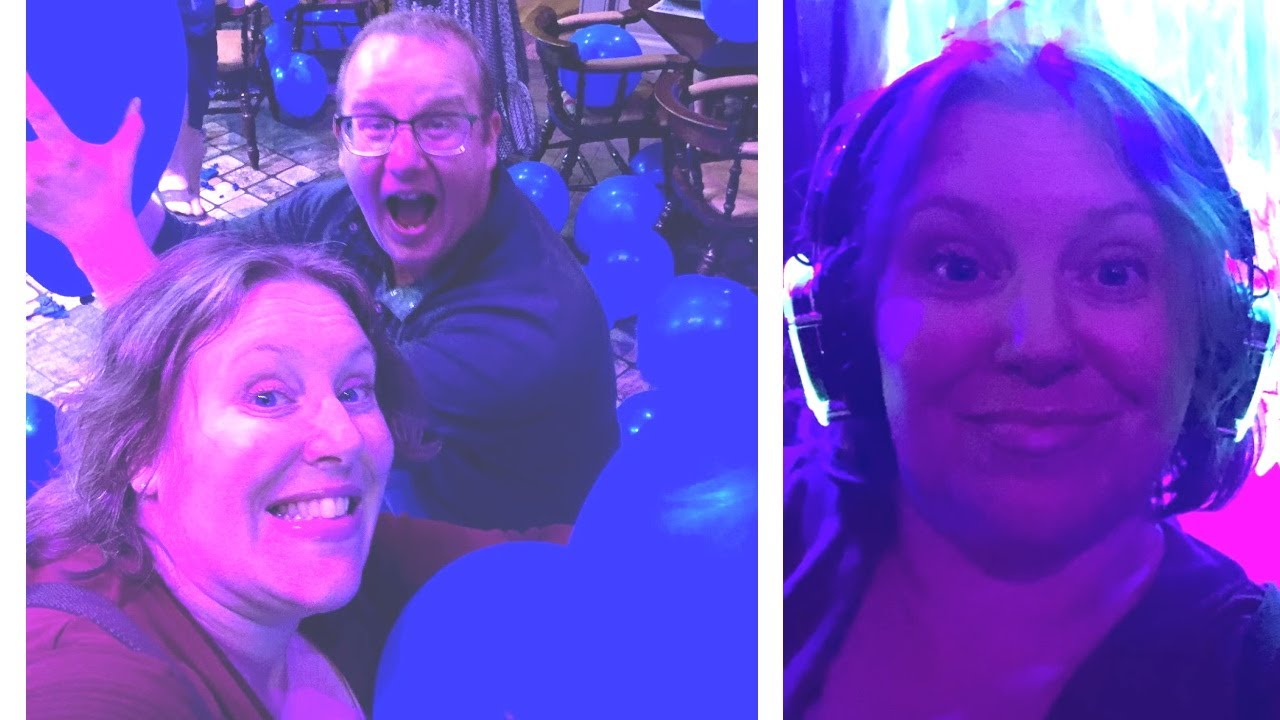 Royal Caribbean Cruise Vlog - 70's Disco Party, Balloon Drop, Silent Disco