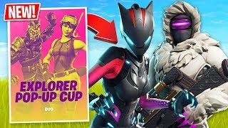 Fortnite Duo Pro Scrim Tournament! (Fortnite Live Gameplay)
