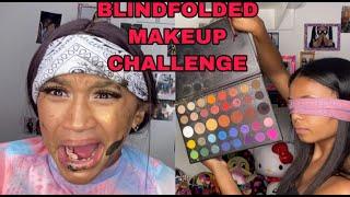 I did Lala's makeup blindfolded!!