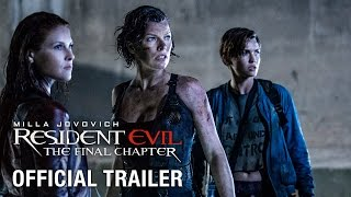 RESIDENT EVIL: THE FINAL CHAPTER - Official Teaser Trailer - Now Available on Digital Download