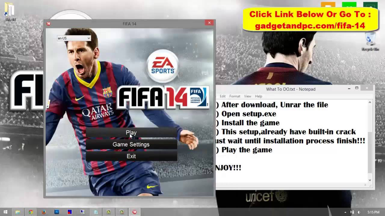 Fifa 14 Download Free Full Version For PC [WORKING 100%]
