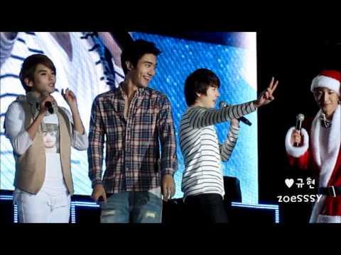 101225 Siwon & Kyuhyun focus - You & I @  SS3 Guangzhou Concert