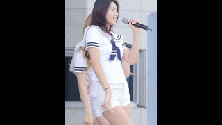 Repeat youtube video 140927 아산 삼성나눔워킹페스티벌 AOA 설현 직캠 흔들려 by Spinel