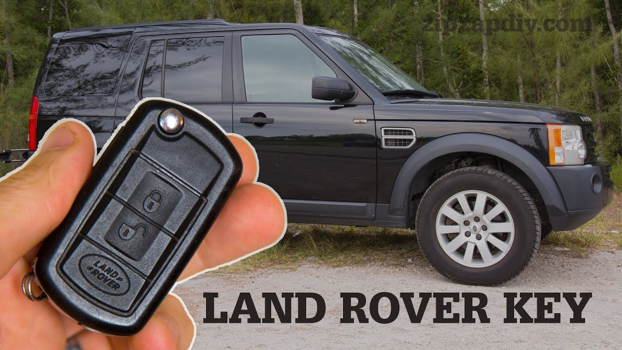 Land Rover Key Fob Battery Replacement and Key Shell Change