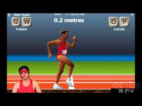[2013-01-18] MAN vs QWOP (PC) - Don't Sweat It Friday! Sponsored by Speed Stick