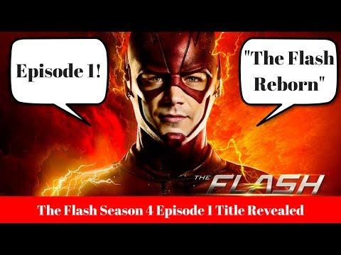 The Flash Season 4 Episode 1 Title Revealed