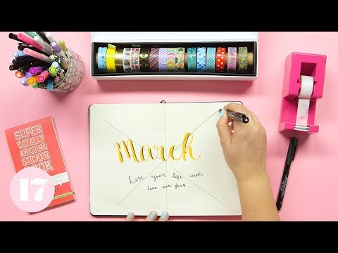 How to Fix Your Bullet Journal Mistakes | Plan With Me