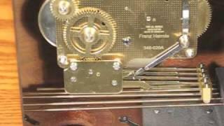 Hermle 21153-i90340 Chiming Mantel Clock