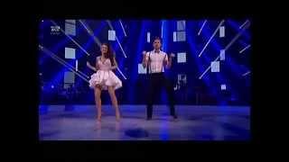 Johannes og Claudia danser Jive - Vild Med Dans 2014