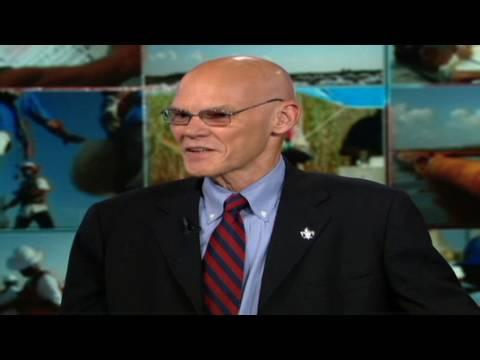 CNN: James Carville crashes BP CEO