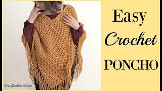 Crochet Poncho for Beginner