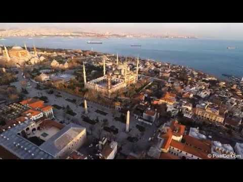 Istanbul Drone View