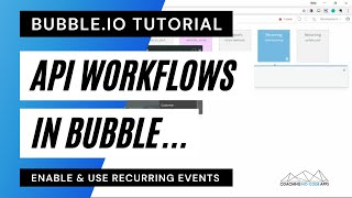 Enable API Workflows in your Bubble.is App