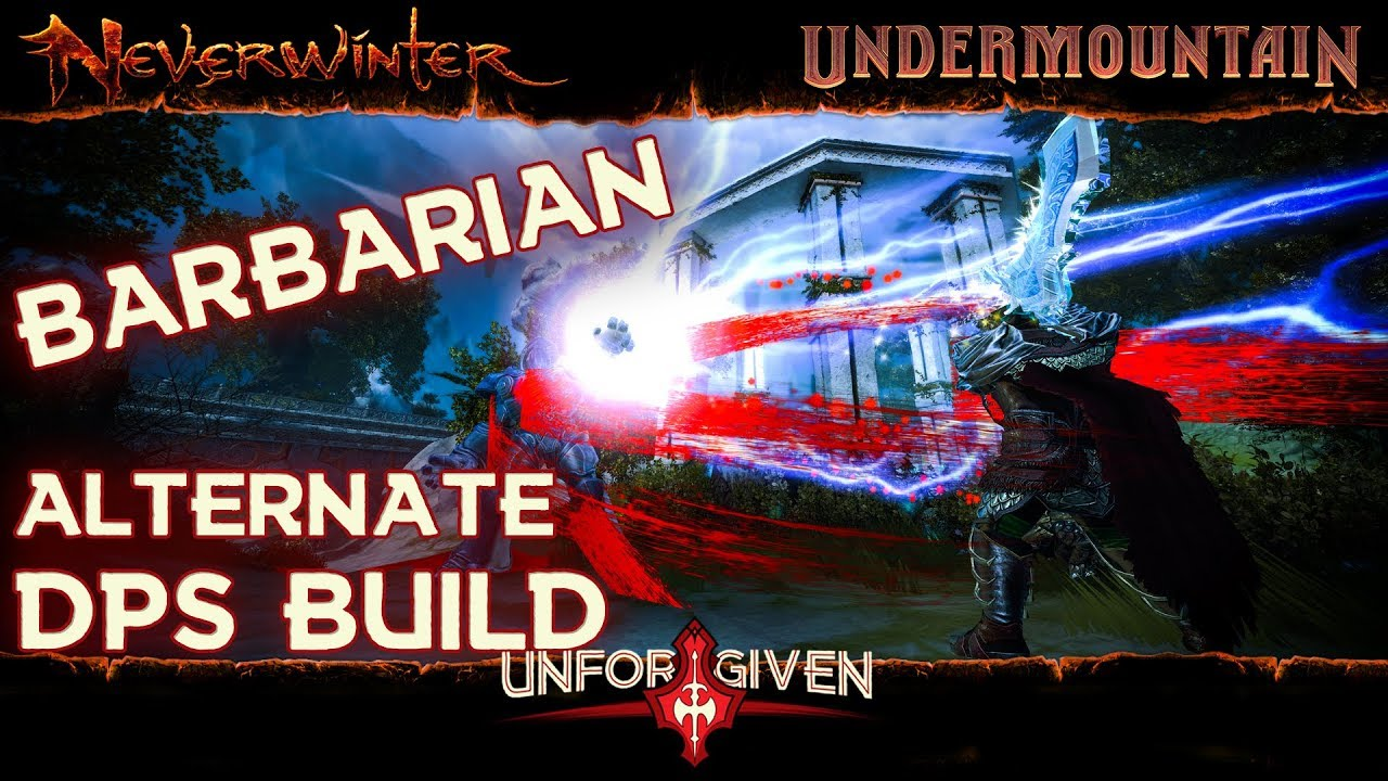 Alternative Barbarian DPS Build for Level 80 Old Gear All Caps