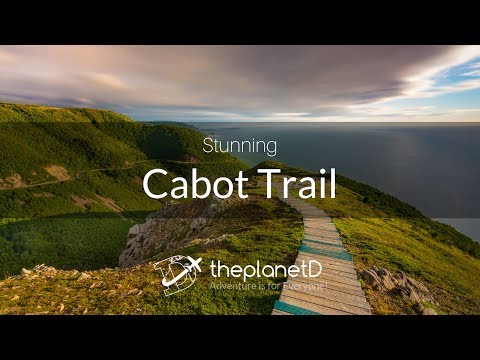 Cabot Trail of Cape Breton, The Stunning Skyline Trail at Sunset
