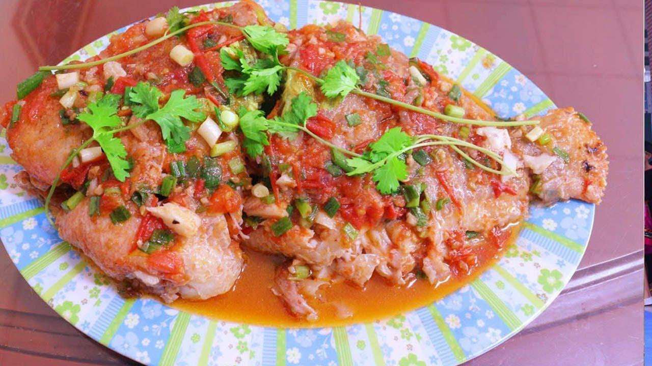 Cá Diêu Hồng Sốt Cà Chua Đơn Giản Nhất – Nấu ăn ngon | Huy Hùng TV