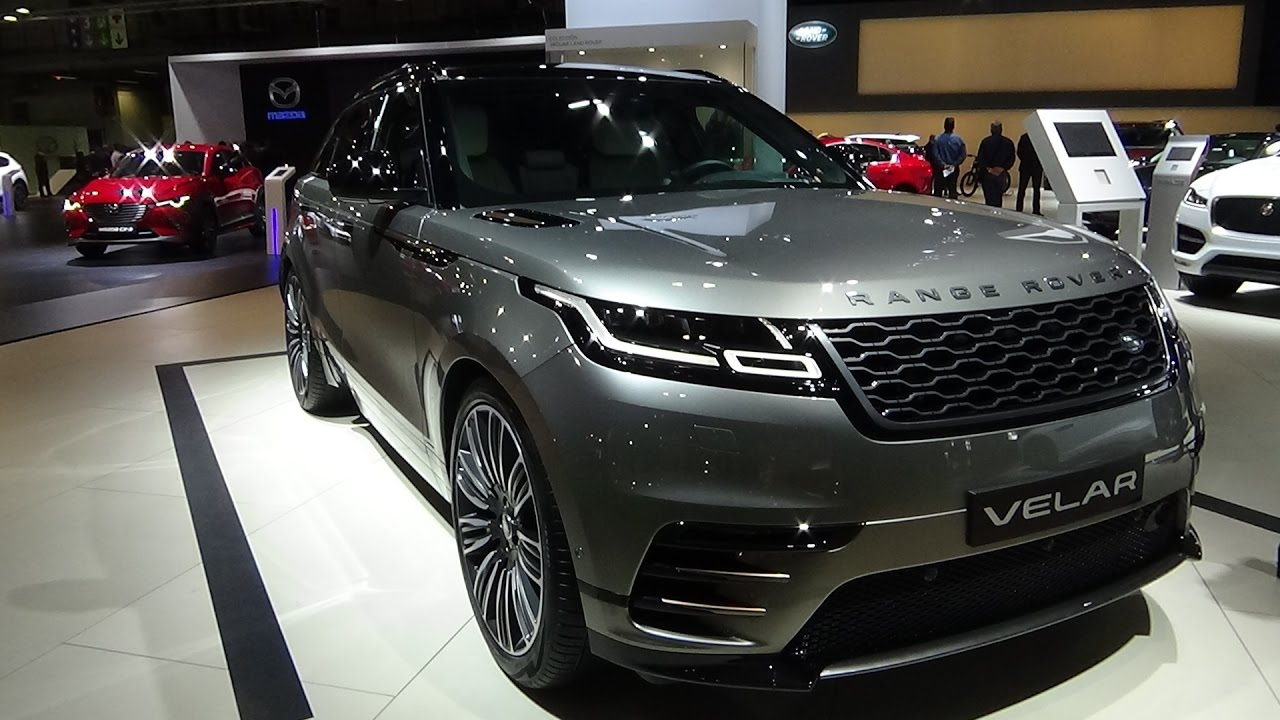 2018 land rover black. modren land 2018 range rover velar high rdynamic  exterior and interior automobile  barcelona 2017 and land rover black