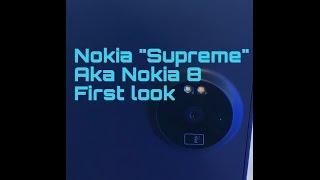 Nokia Supreme aka Nokia 8 hands on leaked (Nokia 8 leak)