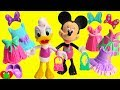 Minnie Mouse and Daisy Shopping Spree Fashion Haul Mix and Match Surprises
