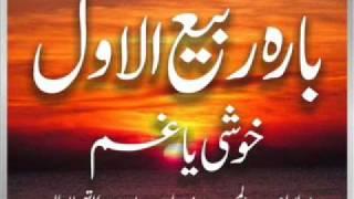 Maulana Abdul Majeed Nadeem - 12 Rabi ul Awwal Khoshi Ya Gham (17 May 2003)